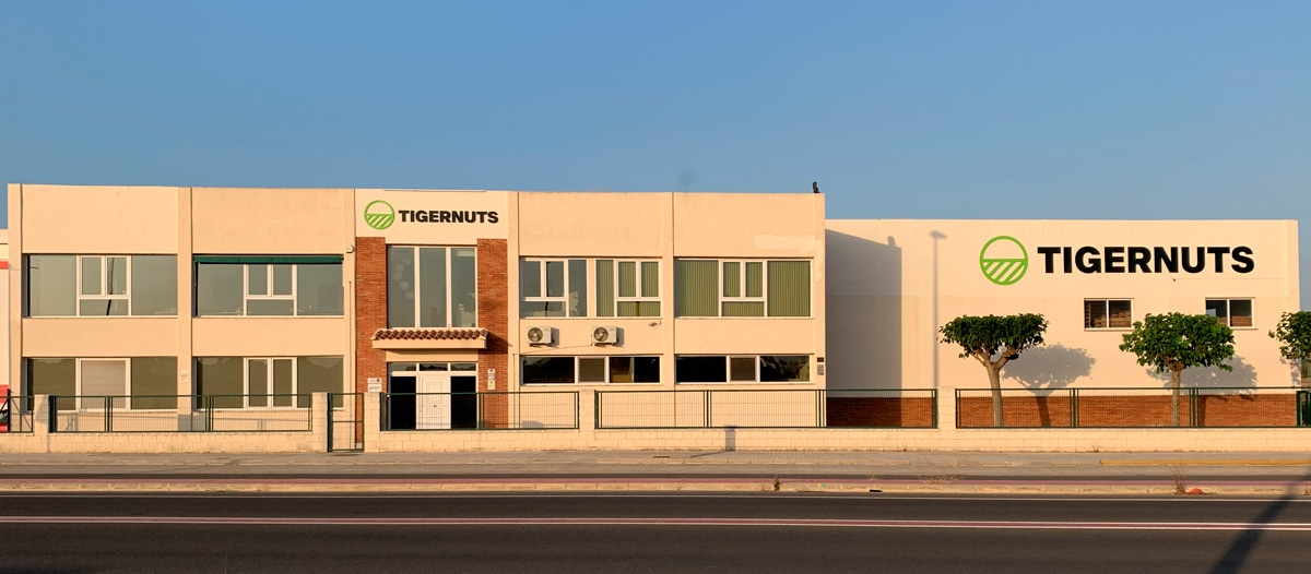 Tigernuts Traders Facilities · Av. La Pobla de Vallbona 39 - E46183 LA ELIANA (VALENCIA), SPAIN